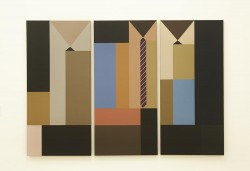 5. Juan Bolivar. Wall Street, 2014, Acrylic on canvas, 112x157