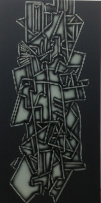 Laced Cubism, 2013 -sml