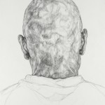 Subject C (2008) charcoal on paper 70 x100 cm