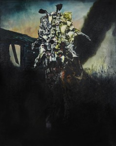 Ennio, Oil on canvas, 200 x 160 cm