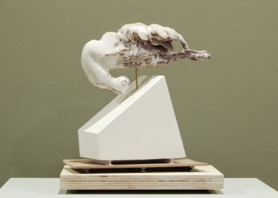 C&C Gallery- Ian Dawson and Chris Hawtin - Untitled 1 2015, 3D print and mixed media 20cm x20cm - Copy